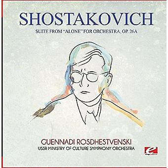 Sjostakovitj - Suite från Alone för orkester Op. 26a [CD] USA import