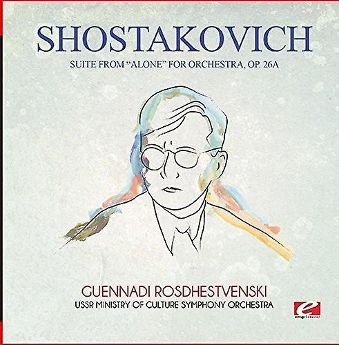 Shostakovich - Suite From Alone for Orchestra Op. 26a [CD] USA import
