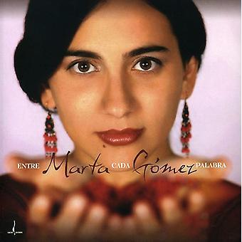 Marta Gomez - Entre Cada Palabra [CD] USA import