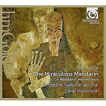 Bartok / orquesta de Lyon - milagrosa mandarín [CD] USA import