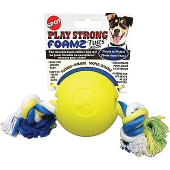 Play Strong Foamz Ball With Rope 3.25