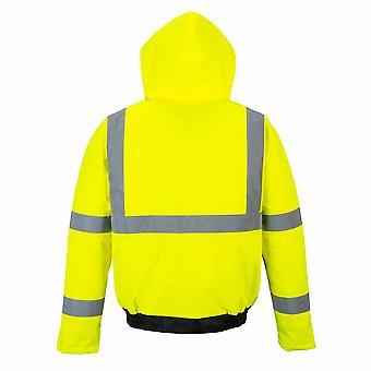 Portwest - Hi-Vis Essential Safety WorkWear Bomber Jacket