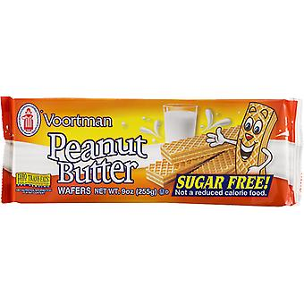Voortman Peanut Butter Sugar Free Wafers Cookies