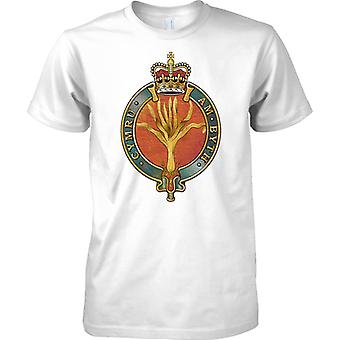 Licensed MOD -  British Army Welsh Guards Insignia - Mens T Shirt