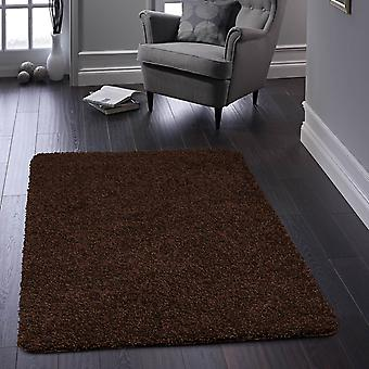 Buddy Washable Rugs In Brown