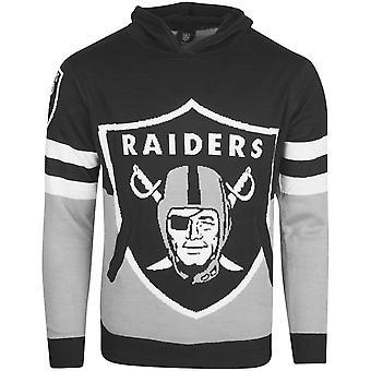 NFL ugly sweater big Logo Hoody - NFL Oakland Raiders
