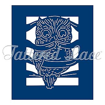 Tattered Lace Notebook Owl Die
