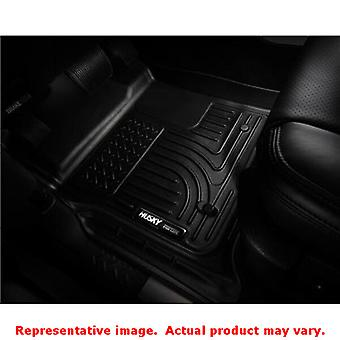 Husky Liners 98711 Black WeatherBeater Front & 2nd Seat FITS:FORD 2011 - 2012 F
