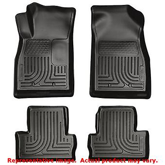 Husky Liners 98181 Black WeatherBeater Front & 2nd Seat FITS:CHEVROLET 2011 - 2