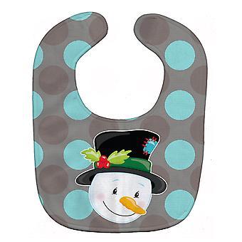 Carolines Treasures  BB8671BIB Christmas Snowman Baby Bib