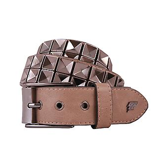 Lowlife Concave Leather Belt