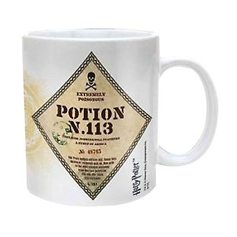 Harry Potter Mug Potion No 113 Hogwarts Official New White Boxed