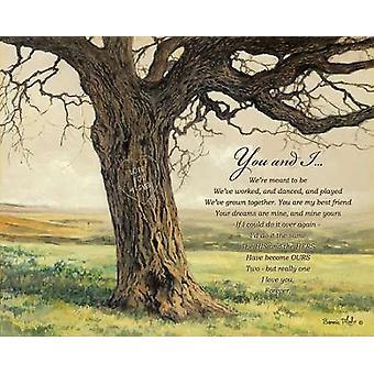 Pour toujours Poster Print par Bonnie Mohr (20 x 16)