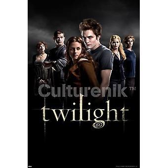 Twilight gruppe plakatutskrift plakat