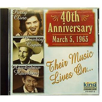 Cline/Copas/Hawkins - 40th Anniversary [CD] USA import