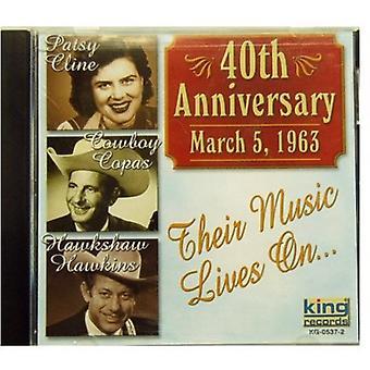 Cline/Copas/Hawkins - 40th Anniversary [CD] USA import