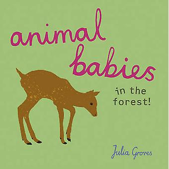 Animal Babies in the Forest by Julia Groves