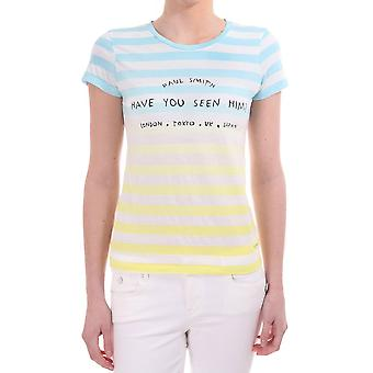 Paul Smith Paul Striped Printed Ss T Shirt