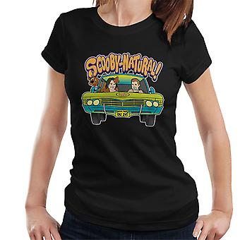 Camiseta Scooby Doo sobrenatural Mix mujeres