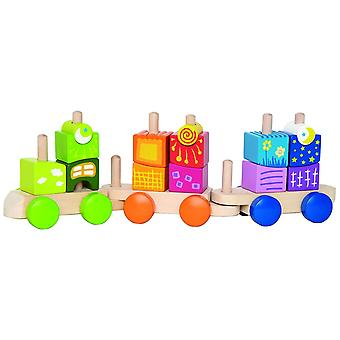 Hape HAP-E0417 Fantastia Blocks Train