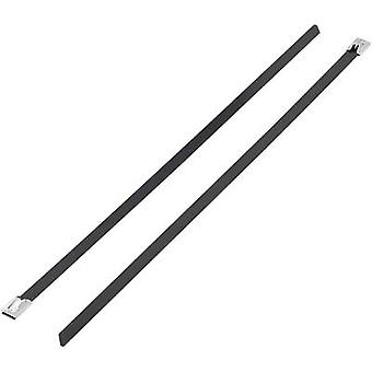 Cable tie 266 mm Black Coated KSS BSTC-266L