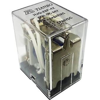 Plug-in relay 24 Vdc 5 A 4 change-overs Tianbo Electronics