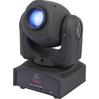 LED moving head spot Renkforce GM 106 NS No. of LEDs:1 x 30 W