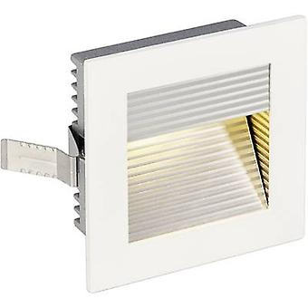 SLV Frame Curve 113292 LED recessed light 1 W Warm white White