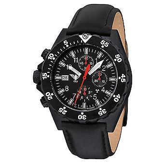 KHS watches mens watch shooter chronograph KHS. SHC. L