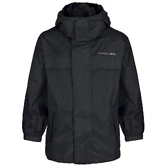 Trespass Boys Girls Packa Light Packable Waterproof Jacket