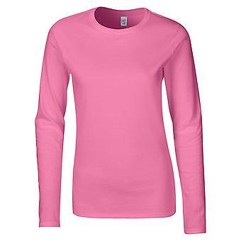 Gildan Softstyle Ladies Ringspun Long Sleeve Cotton T-Shirt