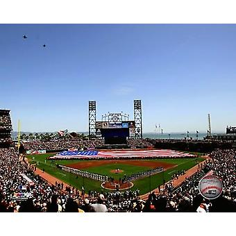 AT&T Park 2010 Opening Day Photo Print