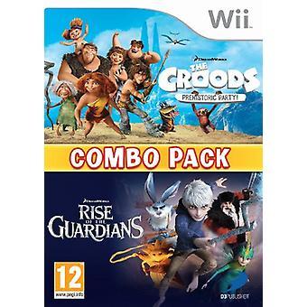 De CroodsRise van de voogden Double Pack (Nintendo Wii)