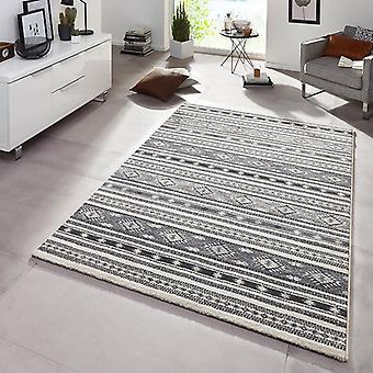 Design Teppich Spirit Grau