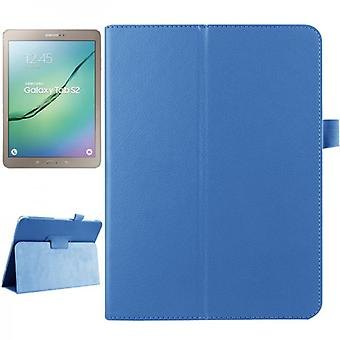 Light blue cover case for Samsung Galaxy tab S2 9.7 SM T810 T815N