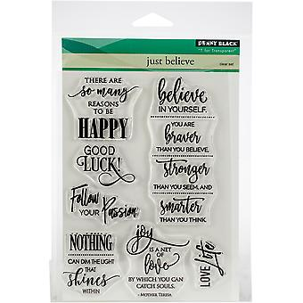 Penny Black Clear Stamps-Just Believe