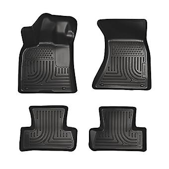Husky Liners Front & 2nd Seat Floor Liners Fits 12-18 Audi A6, 13-14 Audi S6