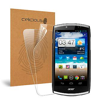 Celicious Vivid Invisible Screen Protector for Acer CloudMobile S500 [Pack of 2]
