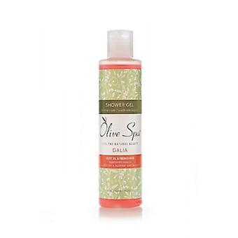 Shower gel Dalia 200ml. French rose and Aloe Vera
