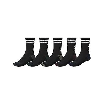 Globe Assorted Carter Crew Pack of 5 Socks