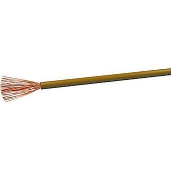 VOKA Kabelwerk H07VK4BR Flexible cable H07V-K 1 x 4 mm² Brown 100 m