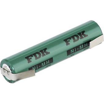 FDK HRAAAU-LFU Non-standard battery (rechargeable) AAA U solder tab NiMH 1.2 V 730 mAh
