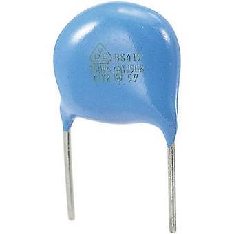 Keramisk ventilenhed kondensator Radial bly 680 pF 250 V AC 10% 1 computer(e)