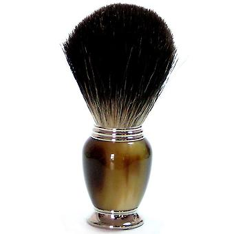 Pennelli da barba ottenere con capelli genuino badger, Brown Galalithgriff