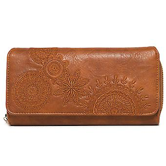 Desigual women's wallet purse MoNE Maria dark amber 18WAYP41