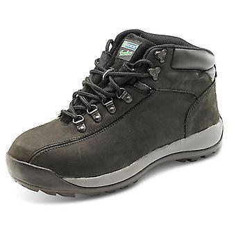 Click Chukka Safety Boot Black Sbp - Ctf32