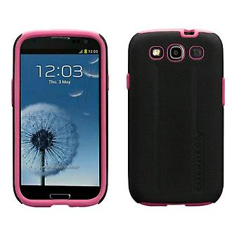Funda dura Case-Mate para Samsung Epic Touch 4G SPH-D710 (negro/rosa)