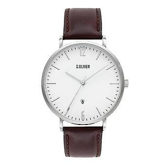 s.Oliver Мужские Часы наручные часы кожа так-3617-LQ