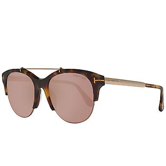 TOM FORD women's Sunglasses brown Butterfly