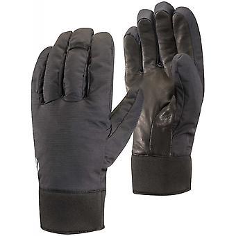 Black Diamond mittelschweren wasserdichte Handschuh - schwarz
